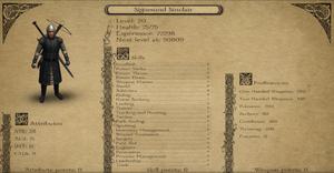 Sigismund Sinclair skills