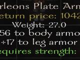 Marleons Plate Armor