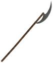 Mesh two handed battle long axe c
