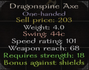 DragonspineAxe