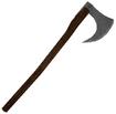 Mesh one handed war axe b
