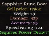 Sapphire Rune Bow