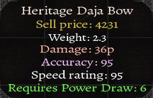Heritage Daja Bow2
