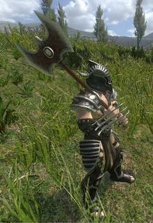 Wolfbode War Axe Pict