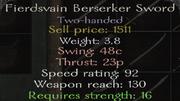 BerserkerSword
