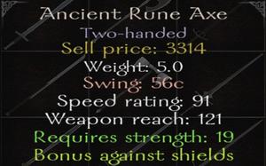 AncientRuneaxe
