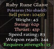 Ruby-Polearm-Stats