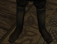 Shadow wolf greaves male