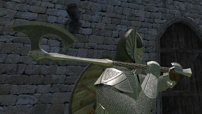 Ancient-rune-axe-holded