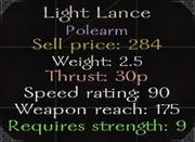 LightLancestats