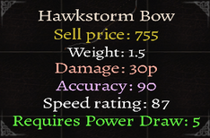 Hawkstorm Bow