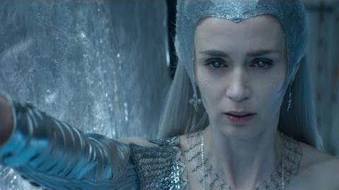 The Huntsman - Freya The Snow Queen's Magic & Powers