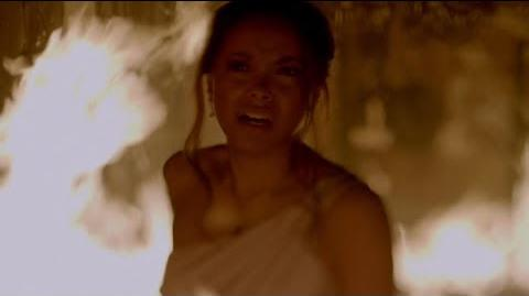 The Vampire Diaries 8x15 - Bonnie and the twins are dying in fire, they use their magic HD
