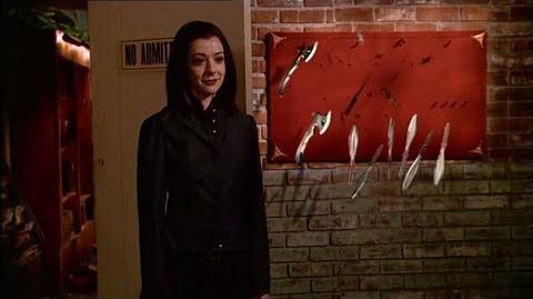 Buffy 6x22 - Dark Willow Vs Giles