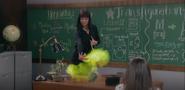 Teacher conjuring rabbit
