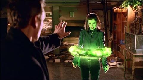 Buffy 6x22 - Giles Traps Dark Willow In A Spell
