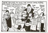 The Popeye Crew