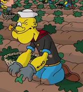 Popeye Simpson style