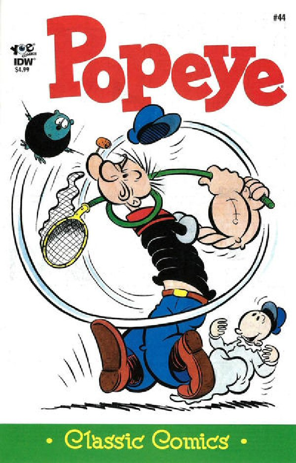 Popeye Classics (comic book)-IDW-No 44-Mar 2016 | Popeye the
