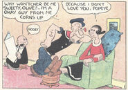 Popeye and Olive before the romance