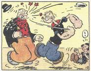 Popeye saves Mary Ann