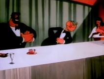 Popeye at His Fancy Dinner