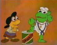 Popeye reference from Muppet Babies