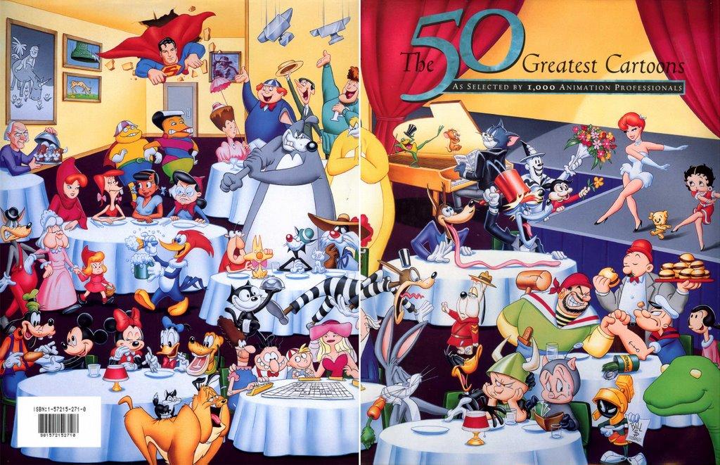 Image - The 50 Greatest Cartoons.jpg   Popeye the Sailorpedia ...