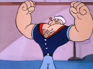Popeye real curly
