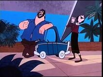 Olive Loves Brutus's Car