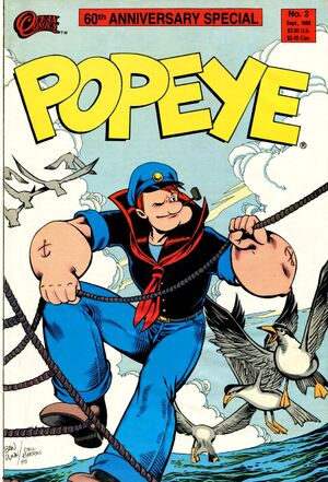 Popeye Special issue 2 cover