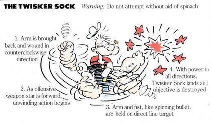 The Twisker Sock
