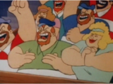 Bluto and Blutessa's relatives