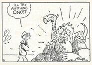 Popeye vs Dragon