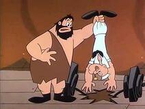Brutus Lifts Popeye