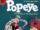 Popeye-Dell-No 40-Apr 1957