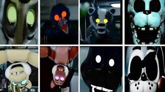 POPGOES ALL JUMPSCARE TODOS LOS SCREAMERS AL ANIMATRONICS