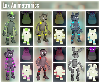 Light Animatronics