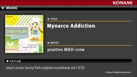 Mynarco Addiction pop'n music Sunny Park original soundtrack vol
