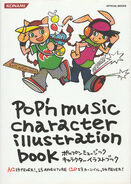 Pop'n Music Character Illustration Book 14-15 Jacket Cover