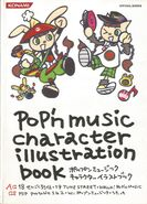 Pop'n music character illustration book AC 18~19 cover