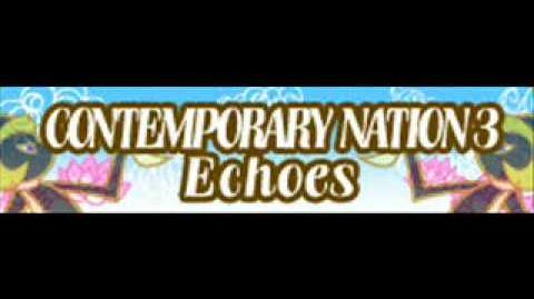 CONTEMPORARY NATION 3 「Echoes」