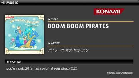 BOOM BOOM PIRATES pop'n music 20 fantasia O.S.T