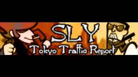 SLY 「Tokyo Traffic Report」