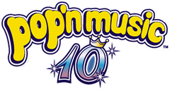 Pop'n Music 10 logo