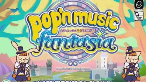 Pop'n Music 20 fantasia(アーケード)Demonstration