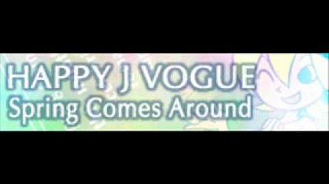 HAPPY J VOGUE 「Spring Comes Around」