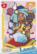 Lazuli Win card