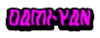 Dami-Yan Name Banner