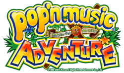 Pop'n Music 15 Logo